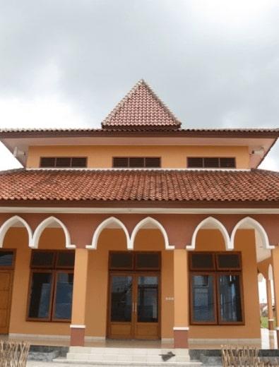 Arsitektur Masjid Perumahan Permata