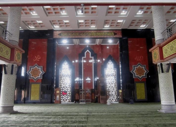Interior Masjid Agung At Taqwa