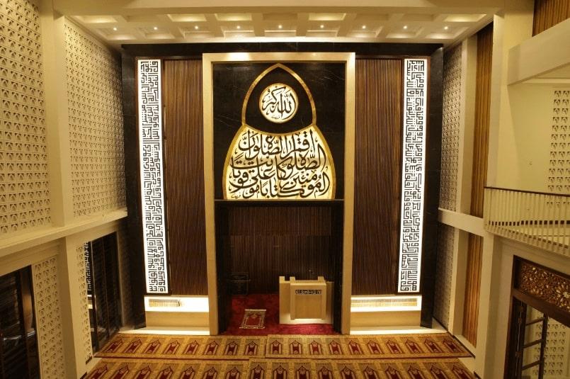 Interior Masjid Al Birru Pertiwi