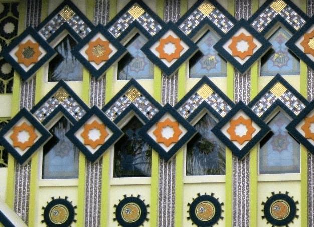 Ornamen Masjid Jami Sirojul Huda
