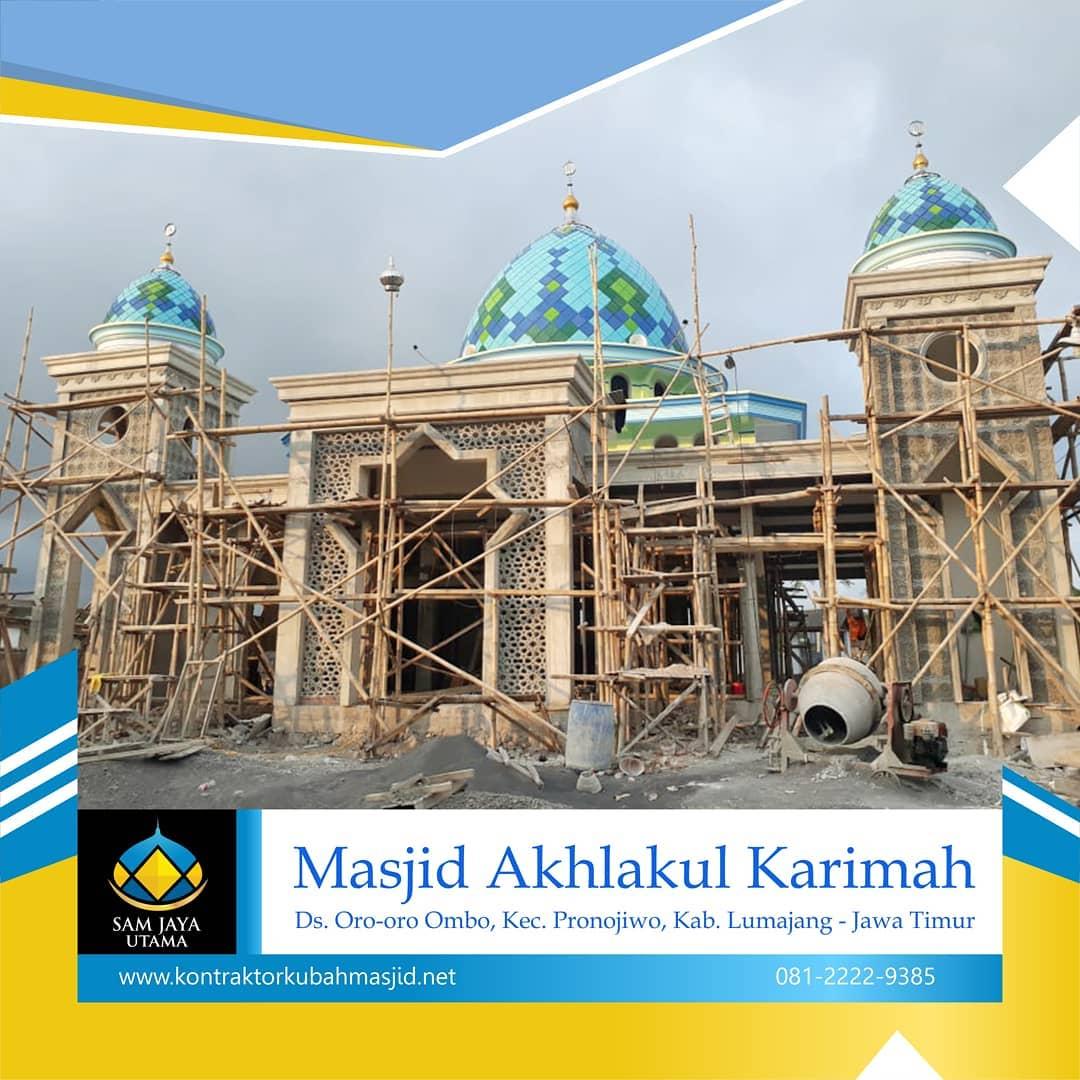 arsitektur kubah masjid