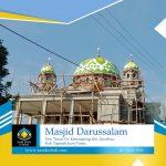 Harga Kubah Masjid Darussalam Nganjuk Jawa Timur